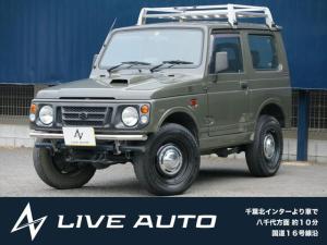 スズキ ジムニー ランドベンチャー 全塗装済 5速MT ターボ フォグ 4WD オーディオ レカロシート