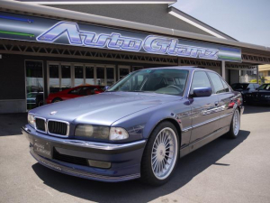 BMWアルピナ B12 5.7 ショート オールペン済 スイッチトロニック サンルーフ パワーシート シートヒーター ETC