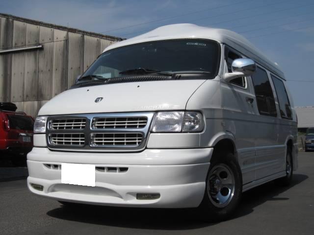 国内販売新車並行!最強V8の5.9L350エンジン! HDDナビTV&Bカメラ!2-2-3リア電動ベット!VIPER!記録簿