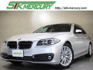 BMW 5シリーズ 523iラグジュアリー 1オーナー!ACC!F10後期!純正HDDナビ!フルセグ!革シート!シートヒーター!