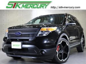 フォード エクスプローラー XLT 純正ナビ ジオバンナ22AW スタッドレスタイヤ有 LEDフォグ バック・サイド・フロントカメラ Bluetooth 地デジ ブラックグリル ETC AUX クルコン