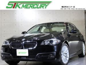 BMW 5シリーズ 523d ラグジュアリー ACC ベ-ジュ革 衝突警告・ブレ-キ レ-ンキ-プ 車線変更警告 Bluetooth 純ナビ 地デジ ミュージックサーバー DVD再生 純18AW 前後ソナー 禁煙 純ミラーETC シートヒーター