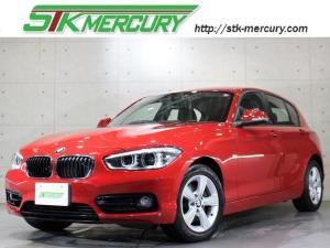 BMW 1シリーズ 118i スポーツ 後期・1オーナー・純正ナビバックカメラ・フルセグ・LEDライト・衝突軽減・車線逸脱警告・クルーズコントロール・ETC・Aストップ・AUX・USB・DVD再生・録音機能・Bトゥース