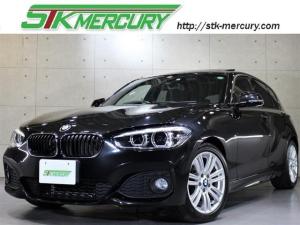 BMW 1シリーズ 118i Mスポーツ サンルーフ 新品Androidナビ インテリジェントセーフティ 地デジ バックカメラ 後方センサー LED パワーシート ドラレコ ETC クルコン 取説 記録簿 スペアキー有