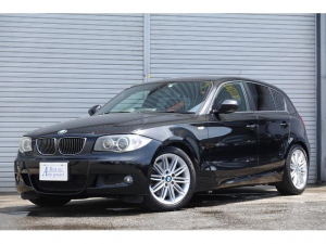 BMW 1シリーズ 130i Mスポーツ1オーナー後期黒革HDDナビ 1年保証