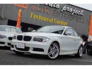 BMW 1シリーズ 135i 6速マニュアル 後期 ワイドHDD 黒革 1年保証