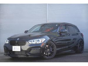 BMW 1シリーズ M140i M140i(5名) ワンオーナー HDDナビ フルセグTV バックカメラ KW車高調 ワーク鍛造19インチアルミ ワンオフエアロ レムスマフラー 純正LSD CPM カーボン仕上げ