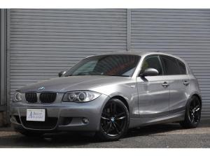 BMW 1シリーズ 130i 後期 ワイドHDDナビ フルセグTV バックモニター 黒革シート HIDヘッドライト 1年保証
