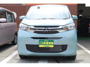 三菱 eKワゴン M 届出済未使用車 衝突被害軽減ブレーキ キーレス 禁煙車