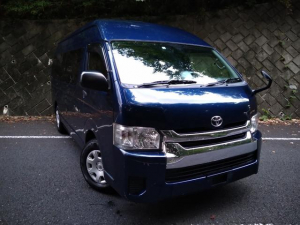 トヨタ ハイエースバン SロングワイドDX GLパッケージ Bluetooth付きパイオニアナビ/Bカメラ/ETC/キーレス/弊社ワンオーナー車