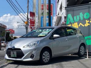 トヨタ アクア L SDナビ ワンセグTV ビルトインETC キーレス 車内LEDライト アイドリングストップ