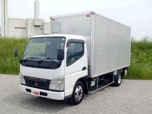 三菱ふそう キャンター  3トン パワーゲート付トラック パワーゲート付標準ロングアルミバン ディーゼル規制適合トラック 東京都乗り入れ可能 アルミバン跳ね上げ式パワーゲート付