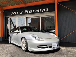 ポルシェ 911 911カレラ GT3エアロ フロントサイド リアウイング 社外マフラー社外18インチアルミホイル 社外前後ヘッドライト テールライト