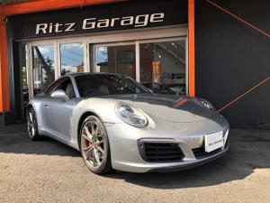 ポルシェ 911 911カレラS 991カレラS スポーツクロノPKG 7MT D車両 ワンオーナー エントリー&ドライブシステム 前後パークセンサー 電格ドアミラー 20インチアルミホイル