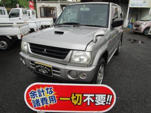 三菱 パジェロミニ アクティブフィールドエディション 4WD 衝突安全ボディ