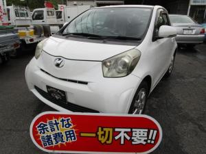 トヨタ iQ 100G レザーパッケージ スマートキー CD 衝突安全ボディ