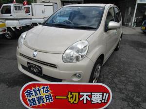 トヨタ パッソ プラスハナ CD再生 エアコン パワステ ABS CVT