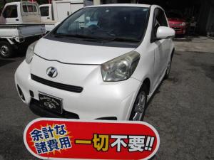 トヨタ iQ 100G レザーパッケージ SDナビ DVD再生 ETC スマートキー アルミホイール