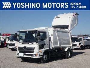 日野 レンジャー 塵芥車 未使用 増トン プレス式 10.2立米 積載6.6t