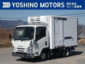 いすゞ エルフトラック 冷蔵冷凍車 ショート サイドドア スタンバイ 低温 フルフラットロー 冷凍機・東プレXV22LSC-P 外気12℃1時間-25℃確認 積載2t