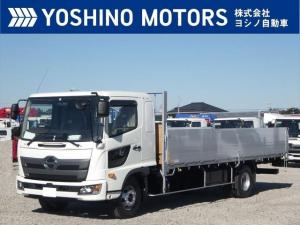 日野 レンジャー アルミ平 未使用 ワイド アオリ3方開 240馬力 6MT 積載3.65t