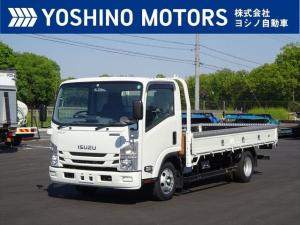 いすゞ エルフトラック 平ボディー 未使用 ワイドロング フルフラットロー 積載2t 150馬力 6MT
