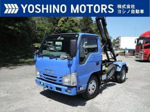 いすゞ エルフトラック フックロール 未使用 150馬力 6MT 積載3t