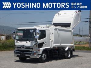 日野 レンジャー 塵芥車 未使用 10.2立米 プレス式 連続スイッチ 汚水タンク 240馬力 6MT 積載5.8t