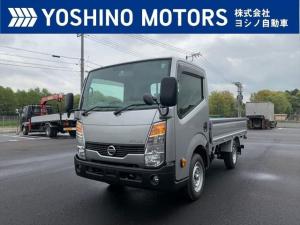 日産 アトラストラック 平ボディー 未使用 総重量3.3t 普通免許可 ガソリン車 130馬力 5MT 積載1.5t