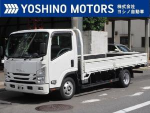 いすゞ エルフトラック 平ボディー 自社レンタUP 3tワイドロング フルフラットロー 150馬力 6MT