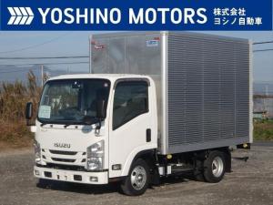 いすゞ エルフトラック アルミバン ショート フルフラットロー フルハーフ 150馬力 5MT 積載2t