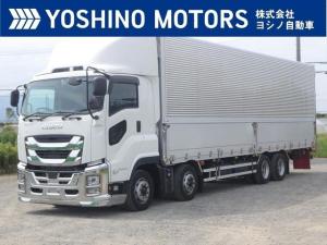 いすゞ ギガ アルミウイング リアエアサス リターダ ドラレコ 380馬力 7MT 積載13.6t