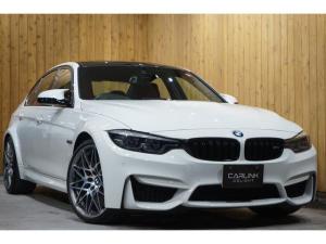 BMW M3 M3セダン コンペティション 後期 赤革 メーカー保証継承