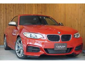 BMW 2シリーズ M235iクーペ 6速 黒ダコタ革 ガレージ保管禁煙1オナ車