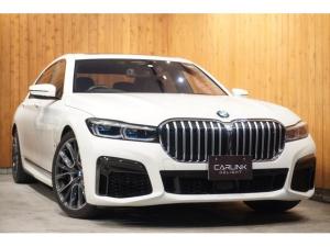 BMW 7シリーズ 750Li xDrive Mスポーツ 2019後期 リヤコンフォートPKG+ パノラマSR 前後席マッサージ/ベンチレーション/ヒーター機能ナッパ革 イノベーションPKG ディスプレイキー リモートパーキング リアエンターテイメント 禁煙