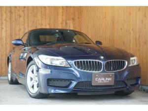BMW Z4 sDrive23i MスポーツPKG ヒーター付黒革スポーツシート 電動オープン パドルシフト付革巻きステアリング HIDヘッドライト ETC 純正ナビ 地デジTV バックカメラ 16インチAW スペアキー