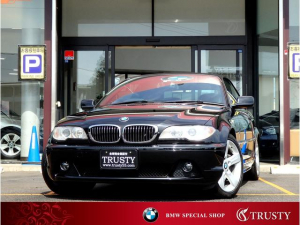BMW 3シリーズ 330Ciカブリオーレ 後期型 黒革 HDDナビ 1年保証