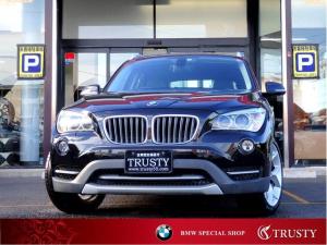 BMW X1 xDrive 20i xライン 後期型 8AT 4WD 純正18AW タイヤ8分山 ハーフレザーシート AUX ETC スマートキー バイキセノンヘッドライト メモリーパワーシート 記録簿