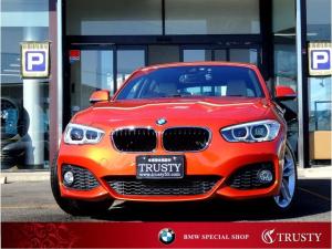 BMW 1シリーズ 118i Mスポーツ 純正18インチAW 純正フルエアロ Dアシスト クルコン オイスターレザーインテリア HDDナビ Mサーバー ブルートゥース バックカメラ スマートキー LEDヘッドライト シートヒーター 1年保証