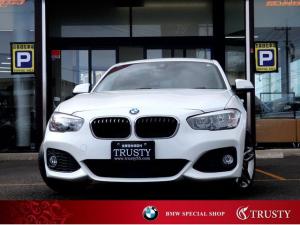 BMW 1シリーズ 118d Mスポーツ 後期型 自動追従 PサポートPKG 純正18AW 純正フルエアロ Mスポーツブレーキ アルカンターラスポーツシート HDDナビ ブルートゥース スマートキー Dアシスト 2ゾーンエアコン 1年保証
