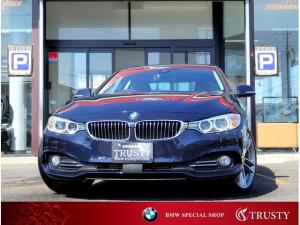 BMW 4シリーズ 420iクーペ ラグジュアリー 1オーナー 純正OP19AW ブラウンレザー 自動追従クルコン ドライビングアシスト シートーヒーター HDDナビ DVD ブルートゥース メモリーパワーシート パドルシフト 禁煙車 1年保証