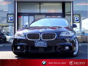 BMW 5シリーズ 523d Mスポーツ 自動追従クルコン ドライビングアシスト 純正18インチAW 純正フルエアロ HDDナビ フルセグTV CD DVD Mサーバー ETC バックカメラ PDC スマートキー バイキセノン 1年保証