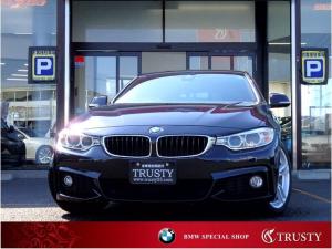 BMW 4シリーズ 420iグランクーペ Mスポーツ 後期エンジン 純正18AW 純正フルエアロ 自動追従 ドライビングアシスト HDDナビ DVD Mサーバー ブルートゥース バイキセノン スマートキー メモリーPシート PDC Pリアゲート 1年保証