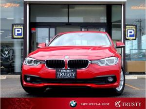 BMW 3シリーズ 320i 1オーナー車 自動追従 後期モデル ドライビングアシスト HDDナビ DVD Mサーバー ブルートゥース LEDヘッドライト リアPDC バックカメラ メモリーパワーシート 記録簿 1年保証