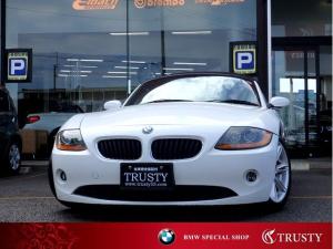 BMW Z4 2.5i 下取車 電動オープン 純正17インチAW アイボリー革 CD ETC メモリーパワーシート シートヒーター 記録簿