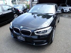 BMW 1シリーズ 118i パーキングサポートPKG 後期モデル 純正16インチAW HDDナビ CD DVD Mサーバー BTオーディオ バックカメラ リアPDC LEDヘッドライト マルチステア 記録簿 禁煙車