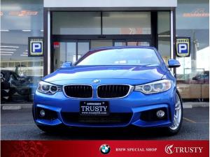 BMW 4シリーズ 420iグランクーペ Mスポーツ 1オーナー ディーラー記録簿毎年6枚 純正18インチAW 純正フルエアロ ドライビングアシスト パワーリアゲート HDDナビ BTオーディオ バックカメラ パドルシフト バイキセノン 1年保証