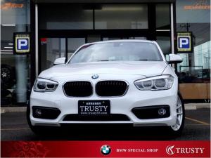 BMW 1シリーズ 118i 後期モデル 後期エンジン 1オーナー車 純正16インチAW LEDヘッドライト HDDナビ(地図データ2018年版) DVD Mサーバー ブルートゥース アイドリングストップ 1年保証