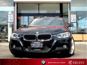 BMW 3シリーズ 320i Mスポーツ 1オーナー 自動追従 ドライビングアシスト ヘッドアップディスプレイ 純正18AW アルカンターラスポーツシート 純正フルエアロ HDDナビ DVD Mサーバー ブルートゥース バックカメラ 1年保証