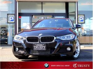 BMW 3シリーズ 320d Mスポーツ ドライビングアシスト 純正18インチAW 純正フルエアロ HDDナビ DVD Mサーバー バイキセノン メモリーパワーシート ブルートゥース リアPDC スマートキー リアフィルム 1年保証